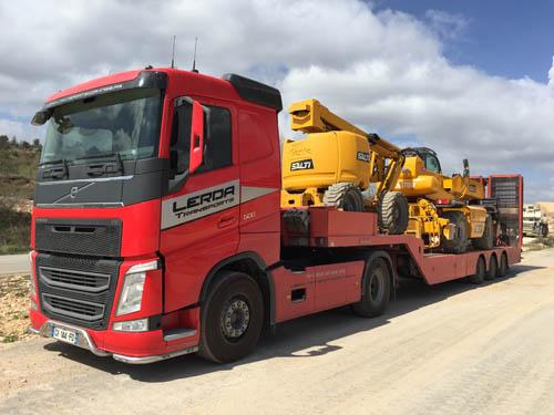 Transport et manutention d'objet lourd BTP